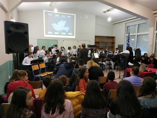 Το Μουσικό Σχολείο τιμά την επέτειο του ΟΧΙ