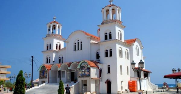 Το Μουσικό Σχολείο στην Αγία Φωτεινή στην Παραλία Κατερίνης
